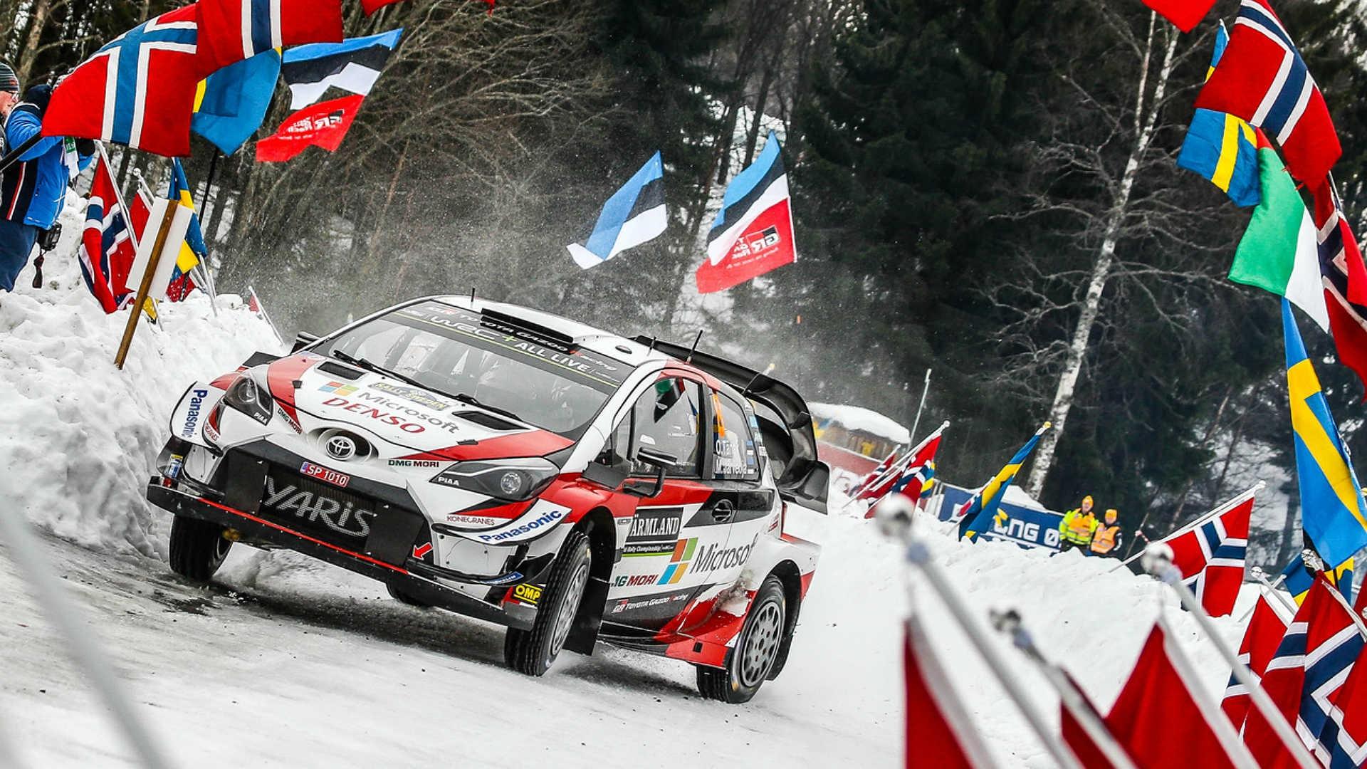 Ott Tanak vence com categoria o Rali da Suécia