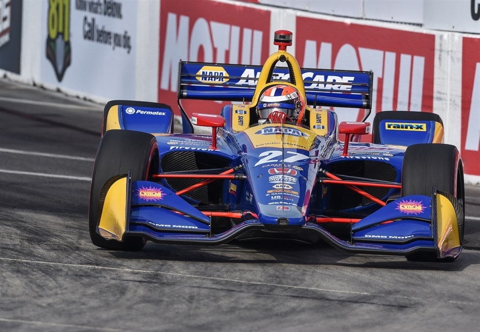 Alexander Rossi vence o GP de Long Beach