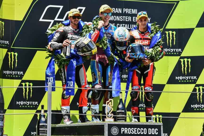Moto2: Alex Marquez vira líder do campeonato