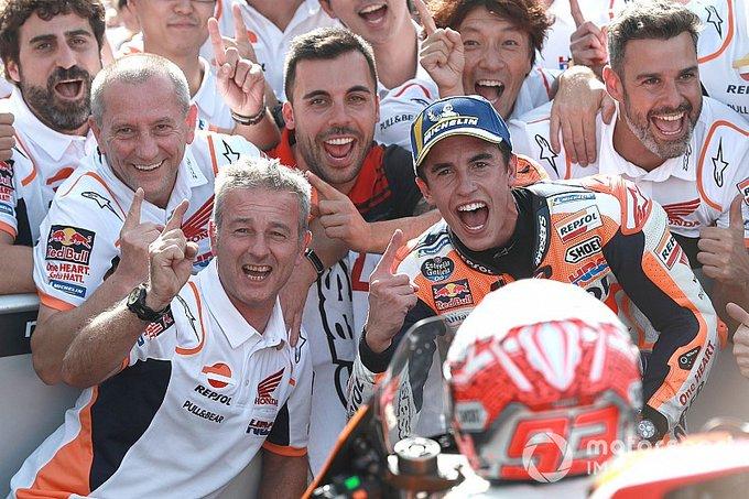 MotoGP em Misano: Marquez vence e dispara na liderança
