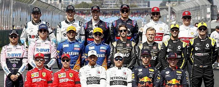 Grid da Fórmula 1 para 2020 vai se completando