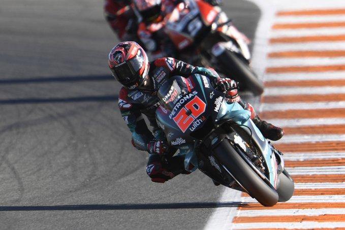 MotoGP em Valência: Quartararo larga da última pole do ano